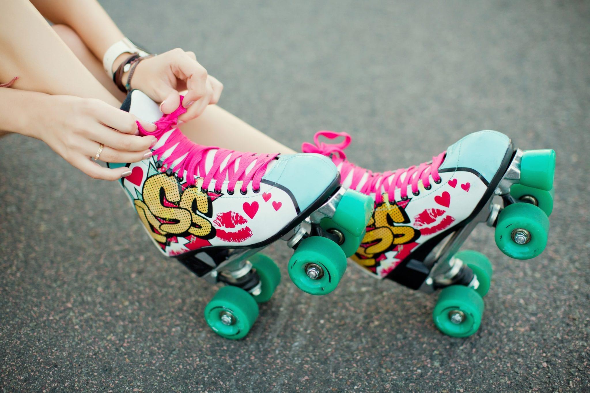 Colorful,roller Skates